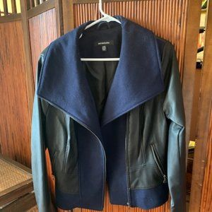 Like New Ladies Sienastudio Leather Jacket Size L
